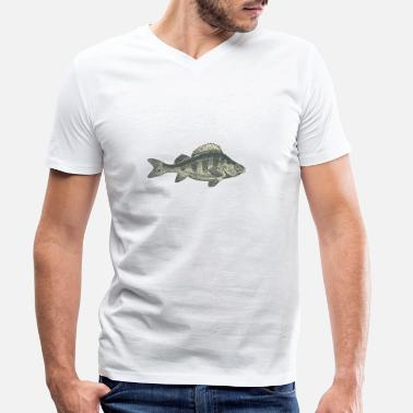 Perch perch - Men's Organic V-Neck T-Shirt