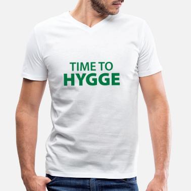 78d438d3 Feeling lykke tilfredshed - T-shirt med V-udskæring mænd