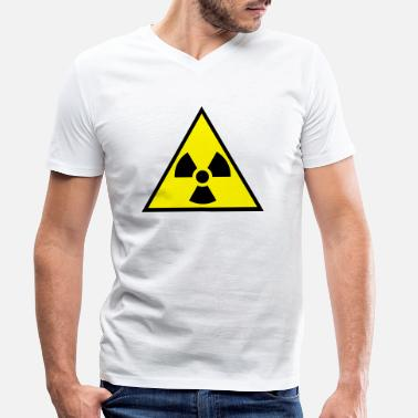 Radioactive Radioactive - Men's Organic V-Neck T-Shirt