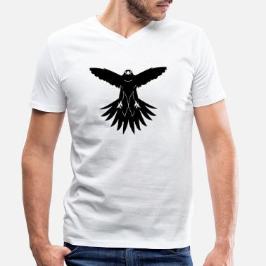 Hawk hawk - Men's Organic V-Neck T-Shirt