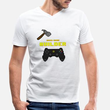 Video Video Game Builder! - Men's Organic V-Neck T-Shirt