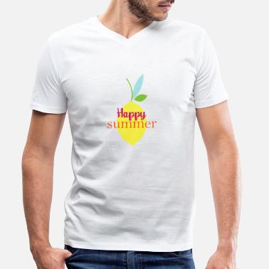 Funny summer 6 - Men's Organic V-Neck T-Shirt