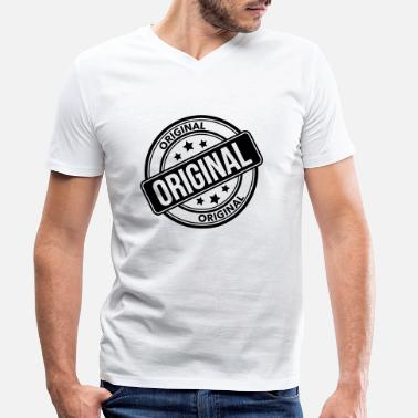 Originator Original - Men's Organic V-Neck T-Shirt
