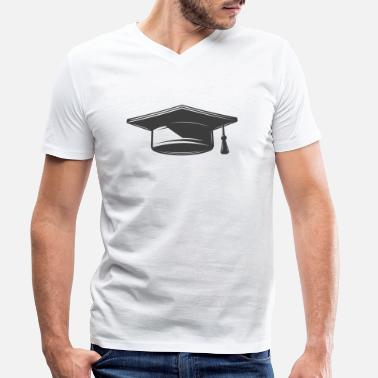 High School Graduate high school graduation - Men's Organic V-Neck T-Shirt