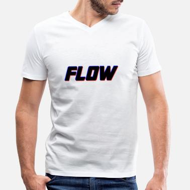 Flow FLOW - Men's Organic V-Neck T-Shirt