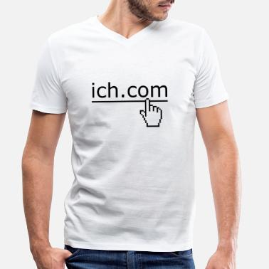 Fun ich komm - Men's Organic V-Neck T-Shirt