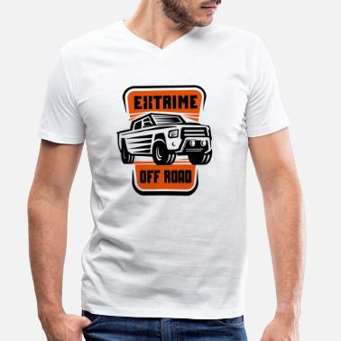 Offroad Vehicles offroad vehicle - Men's Organic V-Neck T-Shirt