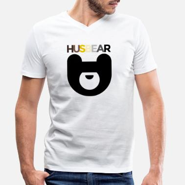 Community HusBear LGBT Bear Community - T-skjorte med V-hals for menn