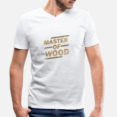 Masters At Work Joiner construction master work gift - Men's Organic V-Neck T-Shirt by Stanley & Stella
