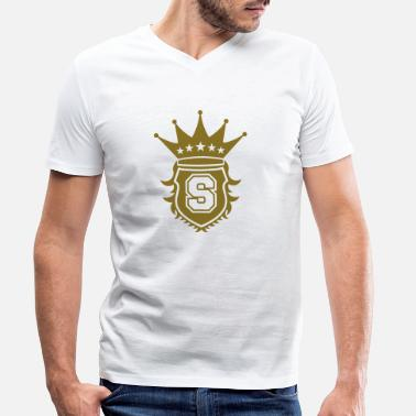 Crest S Crest - Men's Organic V-Neck T-Shirt