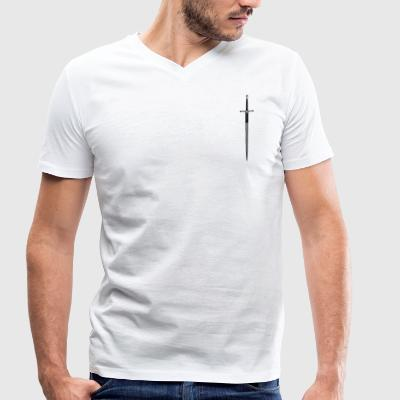 wallacesword - Men's Organic V-Neck T-Shirt by Stanley & Stella