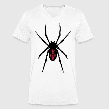 Spider - Men's Organic V-Neck T-Shirt by Stanley & Stella