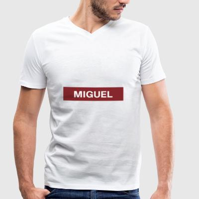 Miguel - Men's Organic V-Neck T-Shirt by Stanley & Stella