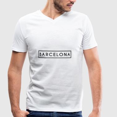 Barcelona - Men's Organic V-Neck T-Shirt by Stanley & Stella