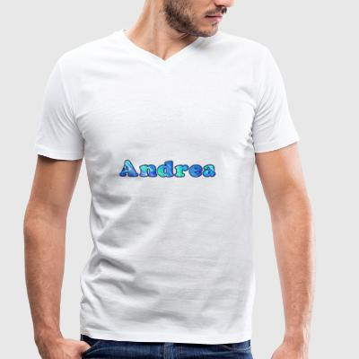 Name: Andrea - Men's Organic V-Neck T-Shirt by Stanley & Stella