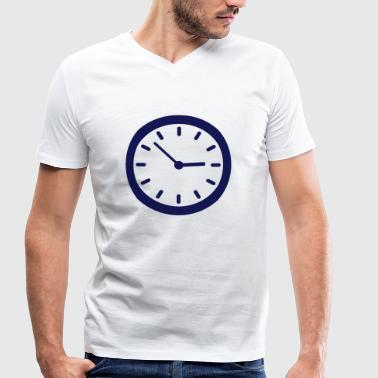 Clock - Men's Organic V-Neck T-Shirt by Stanley & Stella