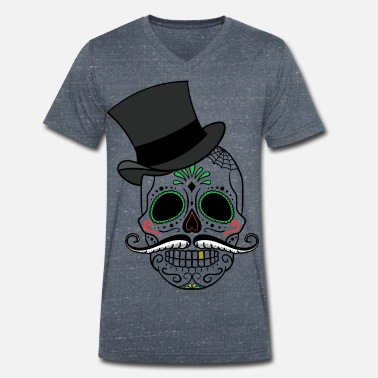Day Of The Dead Day of the Dead - Männer Bio-T-Shirt mit V-Ausschnitt von Stanley & Stella