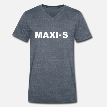 Maxis MAXI S - Men's Organic V-Neck T-Shirt by Stanley & Stella