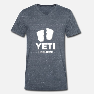 Yeti yeti - Men's Organic V-Neck T-Shirt by Stanley & Stella