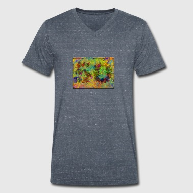 50th birthday - Men's Organic V-Neck T-Shirt by Stanley & Stella