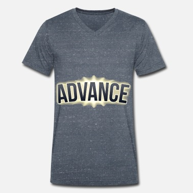 Advanced Advance - Men's Organic V-Neck T-Shirt