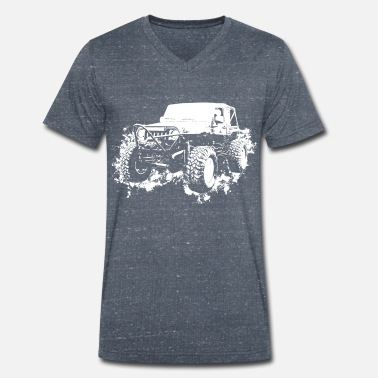 Autocross Autocross - Men's Organic V-Neck T-Shirt