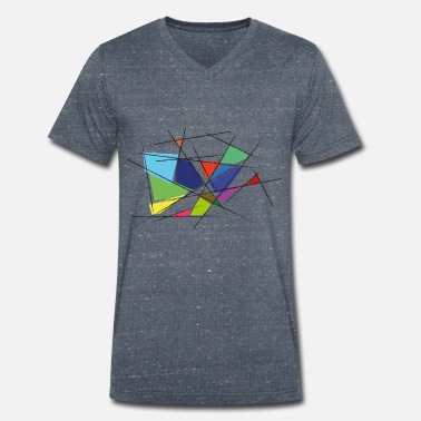 Perspective - Men's Organic V-Neck T-Shirt