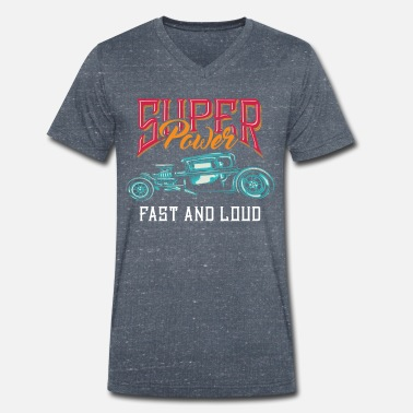 Fast Super Power Edition - Men's Organic V-Neck T-Shirt