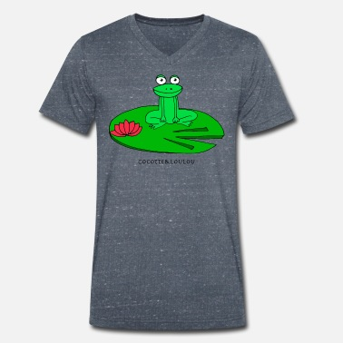 Molly Molly la grenouille - T-shirt bio col V Stanley & Stella Homme