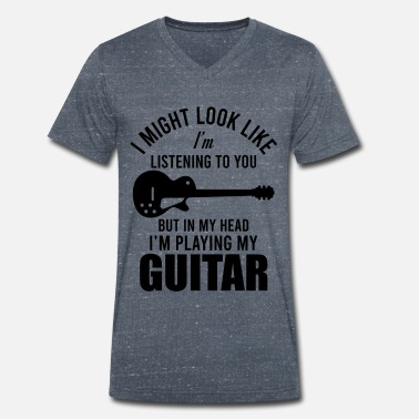 Guitarist guitarist - Men's Organic V-Neck T-Shirt
