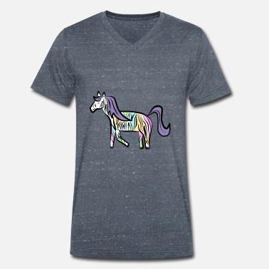 Idea de regalo extravagante Crazy Zebra Camiseta premium