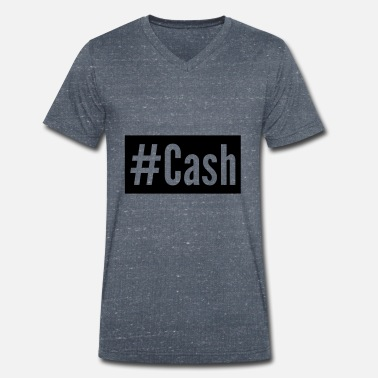 Cash Cash - Men's Organic V-Neck T-Shirt