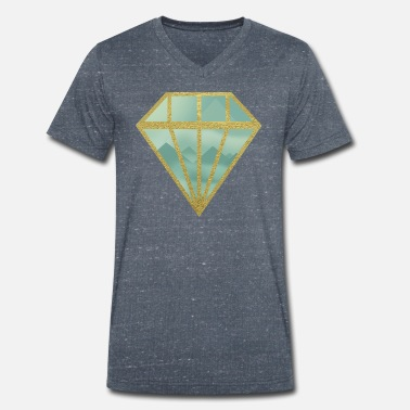 Indie Indie diamond - Men's Organic V-Neck T-Shirt