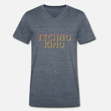 Techno Kid Techno kid - T-shirt bio col V Homme