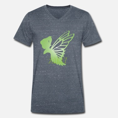 Fairy Mythical Fantasy Creatures - Men's Organic V-Neck T-Shirt