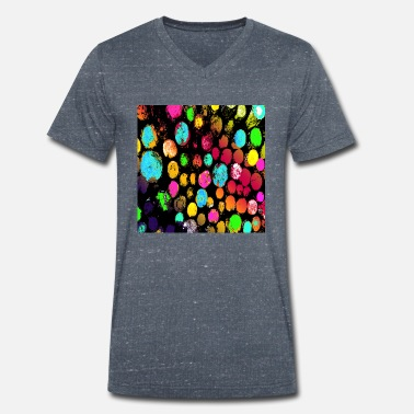 Trunk Rainbow trunks - Men's Organic V-Neck T-Shirt