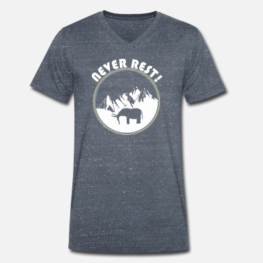 Mammoth mammoth - Men's Organic V-Neck T-Shirt