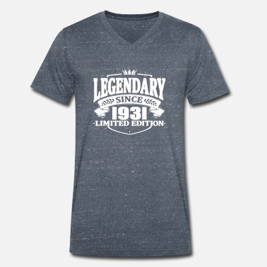 1931 Legendarisk sedan 1931 - T-shirt med V-ringning herr