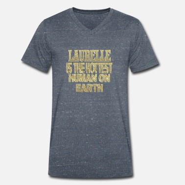 Laurel laurelle - Men's Organic V-Neck T-Shirt