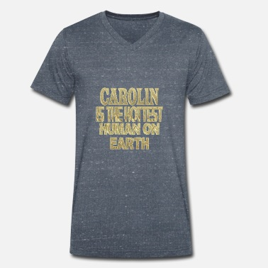 Caroline Carolin - Men's Organic V-Neck T-Shirt