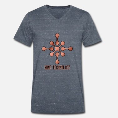 Nano NANO Technology - Men's Organic V-Neck T-Shirt