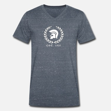 Trojan Trojan Skinheads Punk Oi 1969 working class shirt - Men's Organic V-Neck T-Shirt