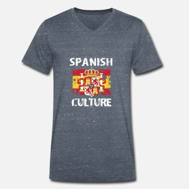 Spanish Spanish Culture - Men's Organic V-Neck T-Shirt