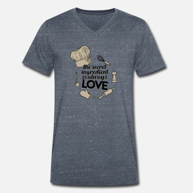 Recipe Recipe love - Men's Organic V-Neck T-Shirt