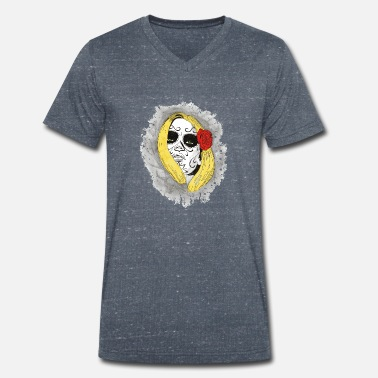 Day Of Prayer Och Omvändelse Day Of The Dead Blondie - T-shirt med V-ringning herr