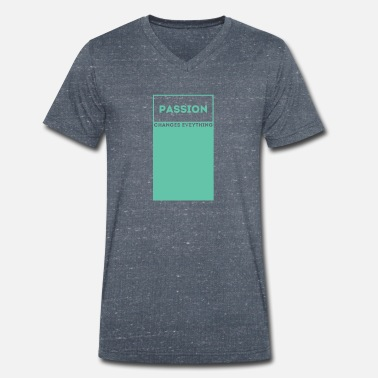 Passion Passion / passion - Men's Organic V-Neck T-Shirt