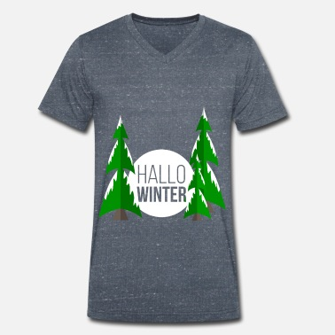 Winter winter - Men's Organic V-Neck T-Shirt