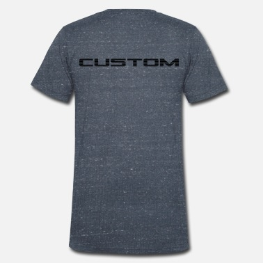 Text Custom - Men's Organic V-Neck T-Shirt