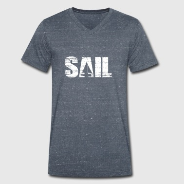 Sail - sailing - Men's Organic V-Neck T-Shirt by Stanley & Stella