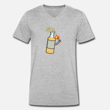 Molotow molotow cocktail - Men's Organic V-Neck T-Shirt by Stanley & Stella